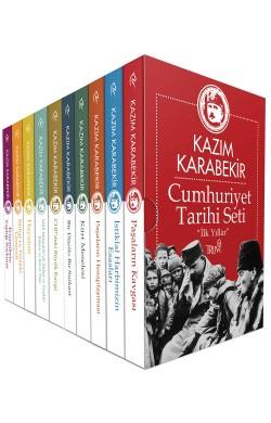 Cumhuriyet Tarihi Seti - İlk Yıllar - (10 Cilt Lüx Kutulu)